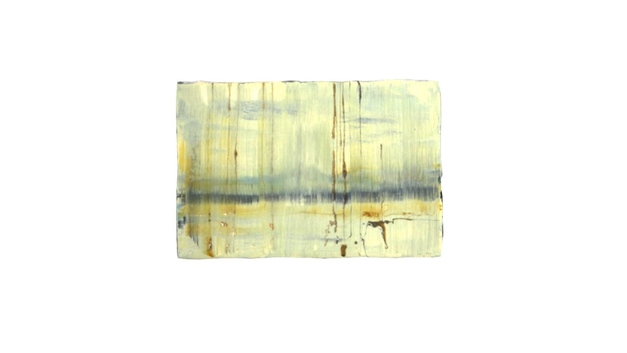 nebbia, oil on linen, 2018, 30 x 45 cm