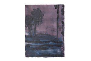 Tempest, oil on linen, 2017/18, 60 x 45 cm