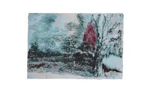 albero, oil on linen, 2017/18, 45,5 x 65,5 cm