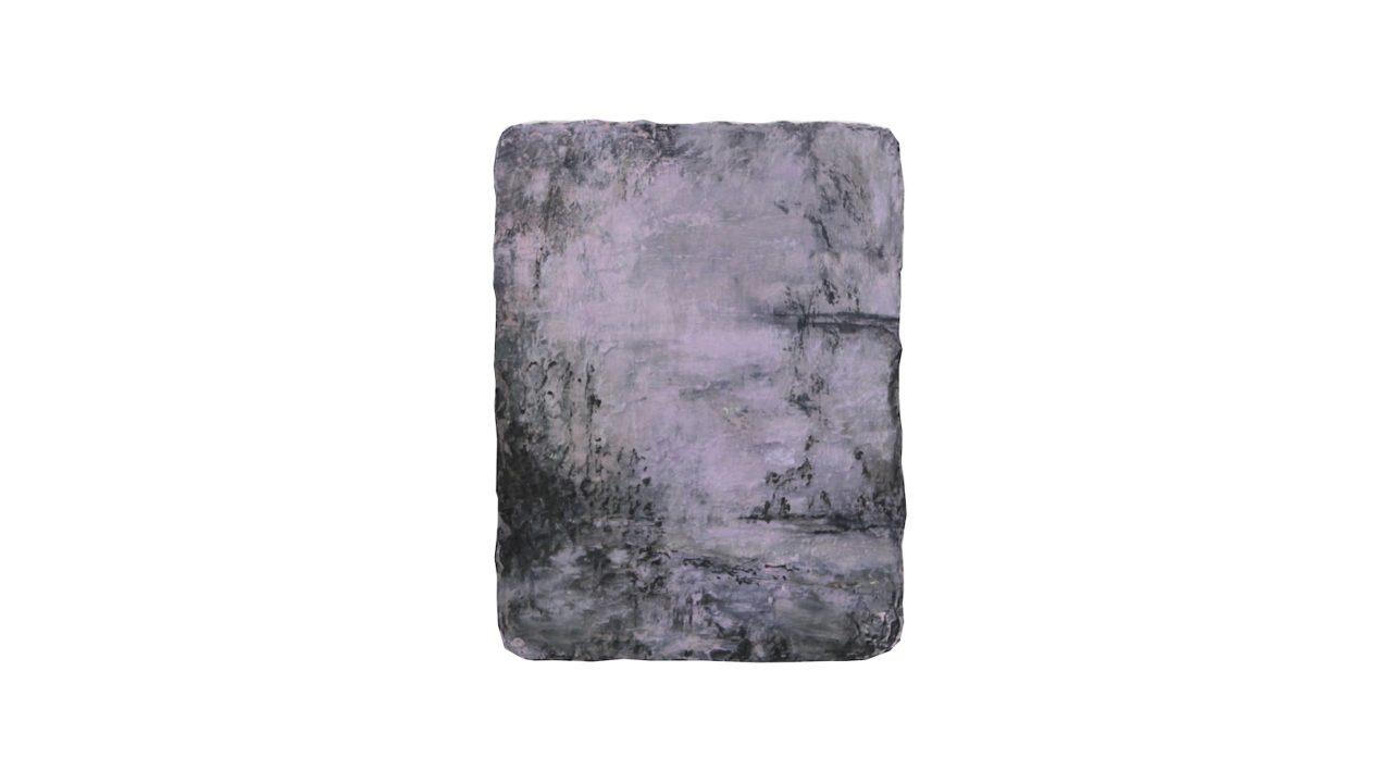 paesaggio, oil on linen, 2017, 42 x 31,5 cm