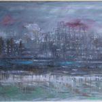 Pernis, 2008, oil on linen, 105,5 x 150 cm