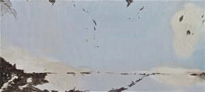 untitled, 2007, oil on linen, 90 x 200cm, particuliere collectie