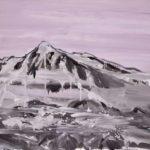 2018, Svalbard/Spitsbergen, oil on linen, 75 x 100 cm