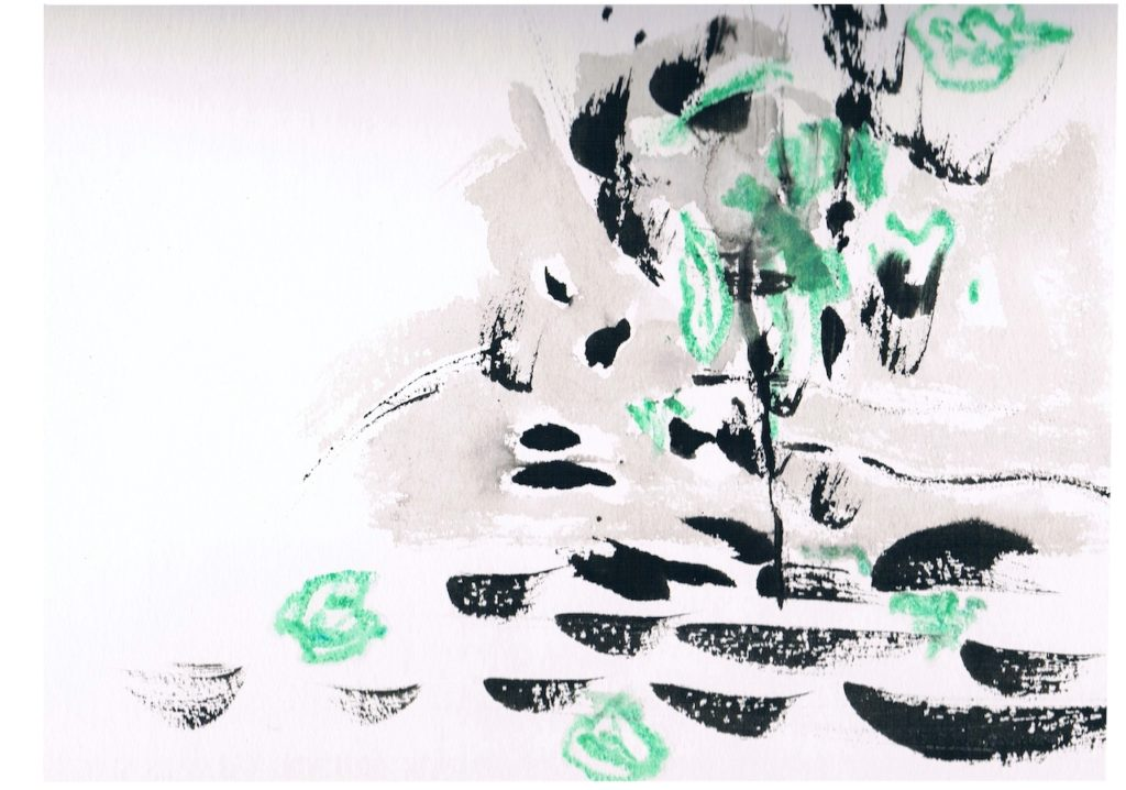 2014, pentekening op papier, 30 x 30 cm