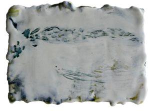 2020, untitled, encaustic on panel, 13,5 x 18,5 cm