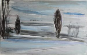 1998, untitled, oil on canvas 64 x 99cm