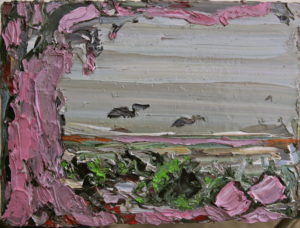 2009, untitled, oil on canvas, 13 x 18 cm, particuliere collectie