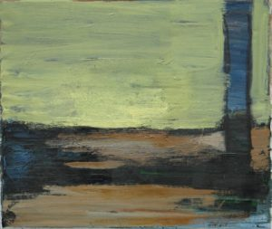 1998, untitled, oil on canvas, 36 x 42 cm