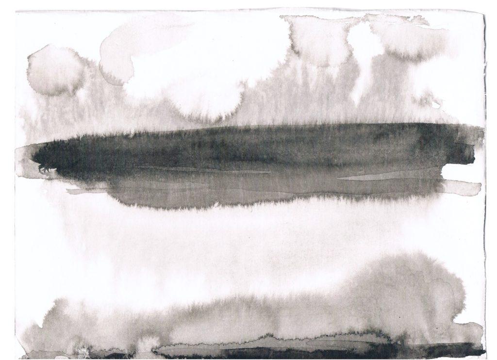 2014, pentekening op papier, 19 x 24 cm