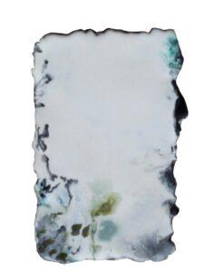2020, untitled, encaustic on panel, 18 x 11,5 cm
